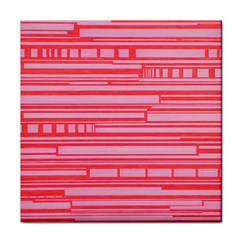 Index Red Pink Tile Coasters