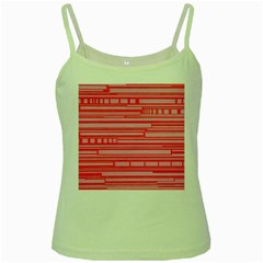 Index Red Pink Green Spaghetti Tank