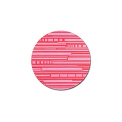 Index Red Pink Golf Ball Marker (4 Pack)