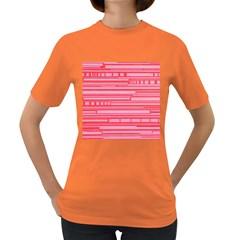 Index Red Pink Women s Dark T-Shirt