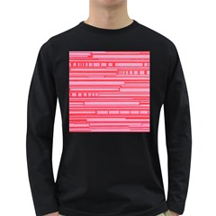 Index Red Pink Long Sleeve Dark T Shirts