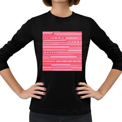 Index Red Pink Women s Long Sleeve Dark T Shirts