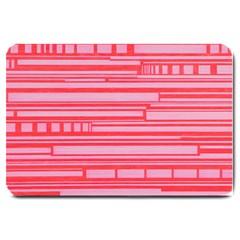 Index Red Pink Large Doormat