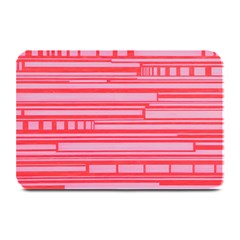Index Red Pink Plate Mats