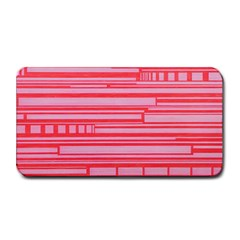 Index Red Pink Medium Bar Mats