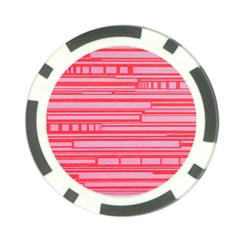 Index Red Pink Poker Chip Card Guard