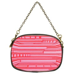 Index Red Pink Chain Purses (two Sides)