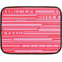 Index Red Pink Double Sided Fleece Blanket (mini)
