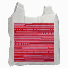 Index Red Pink Recycle Bag (two Side)