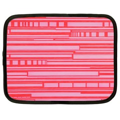 Index Red Pink Netbook Case (xl)