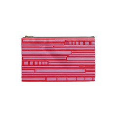 Index Red Pink Cosmetic Bag (small)