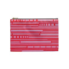 Index Red Pink Cosmetic Bag (Medium)