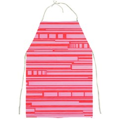 Index Red Pink Full Print Aprons