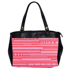 Index Red Pink Office Handbags (2 Sides)