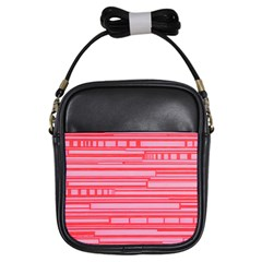 Index Red Pink Girls Sling Bags