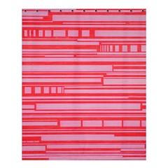 Index Red Pink Shower Curtain 60  X 72  (medium)