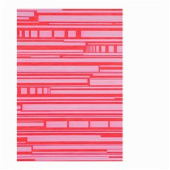 Index Red Pink Small Garden Flag (two Sides)