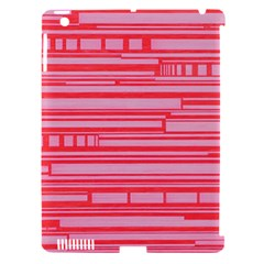 Index Red Pink Apple Ipad 3/4 Hardshell Case (compatible With Smart Cover)