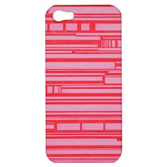 Index Red Pink Apple Iphone 5 Hardshell Case