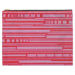 Index Red Pink Cosmetic Bag (xxxl)