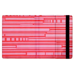 Index Red Pink Apple Ipad 2 Flip Case