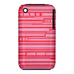 Index Red Pink Iphone 3s/3gs