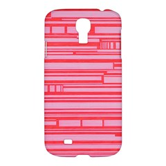 Index Red Pink Samsung Galaxy S4 I9500/i9505 Hardshell Case
