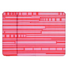 Index Red Pink Samsung Galaxy Tab 8 9  P7300 Flip Case