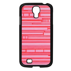 Index Red Pink Samsung Galaxy S4 I9500/ I9505 Case (black)