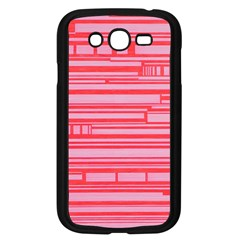 Index Red Pink Samsung Galaxy Grand Duos I9082 Case (black)