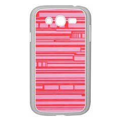 Index Red Pink Samsung Galaxy Grand Duos I9082 Case (white)