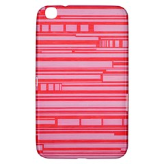 Index Red Pink Samsung Galaxy Tab 3 (8 ) T3100 Hardshell Case