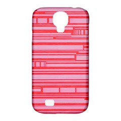 Index Red Pink Samsung Galaxy S4 Classic Hardshell Case (pc+silicone)
