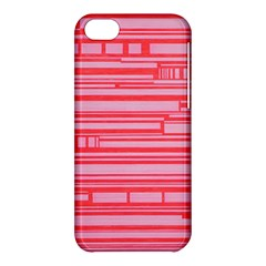 Index Red Pink Apple Iphone 5c Hardshell Case