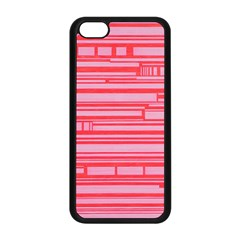 Index Red Pink Apple Iphone 5c Seamless Case (black)