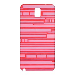 Index Red Pink Samsung Galaxy Note 3 N9005 Hardshell Back Case