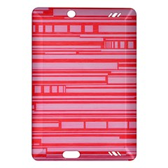 Index Red Pink Amazon Kindle Fire Hd (2013) Hardshell Case