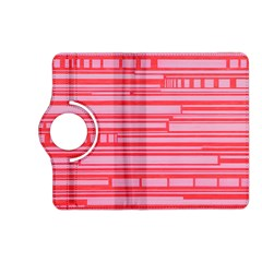 Index Red Pink Kindle Fire Hd (2013) Flip 360 Case