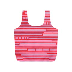 Index Red Pink Full Print Recycle Bags (s)