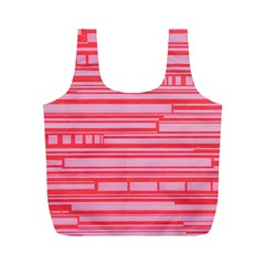 Index Red Pink Full Print Recycle Bags (m)