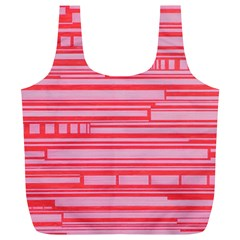 Index Red Pink Full Print Recycle Bags (l)