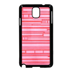 Index Red Pink Samsung Galaxy Note 3 Neo Hardshell Case (black)