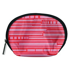 Index Red Pink Accessory Pouches (medium)