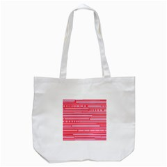 Index Red Pink Tote Bag (white)