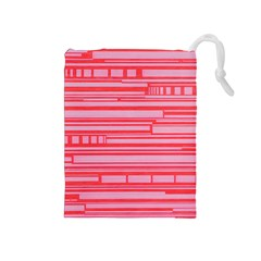 Index Red Pink Drawstring Pouches (medium)