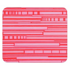 Index Red Pink Double Sided Flano Blanket (small)