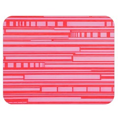 Index Red Pink Double Sided Flano Blanket (medium)