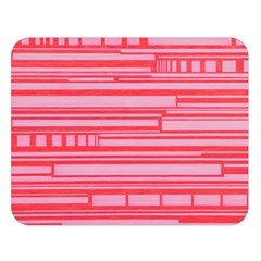 Index Red Pink Double Sided Flano Blanket (large)