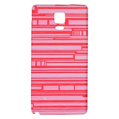 Index Red Pink Galaxy Note 4 Back Case