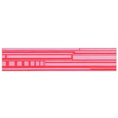 Index Red Pink Flano Scarf (small)